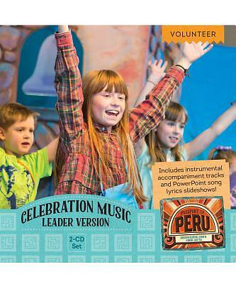 Vacation Bible School (VBS) 2017 Passport to Peru Celebration Music Leader  Version 2-CD Set