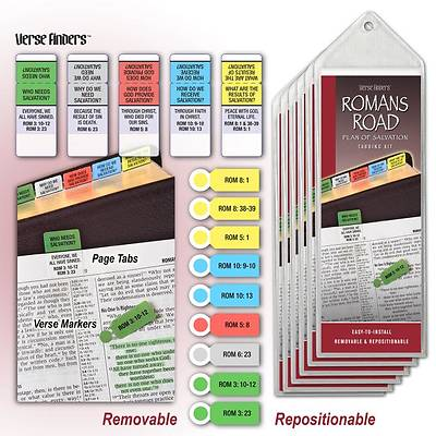 Romans Road Bible Tabbing Kit