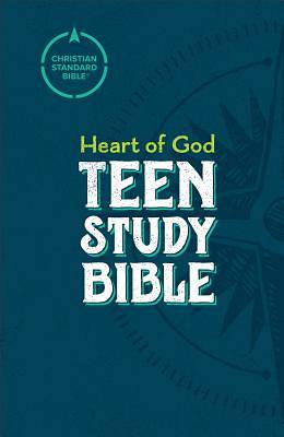 Picture of CSB Heart of God Teen Study Bible, Hardcover