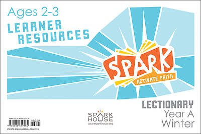 Picture of Spark Lectionary Ages 2-3 Learner Leaflet Year A Winter
