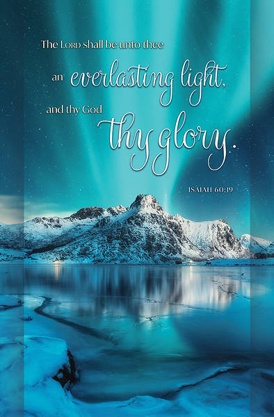 Picture of Everlasting Light They Glory Regular Bulletin Isaiah 60:19