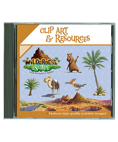 Group VBS 2014 Wilderness Escape Clip Art & Resources CD