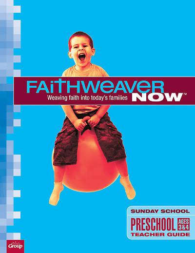 Picture of FaithWeaver Now Preschool Teacher Guide Fall 2015