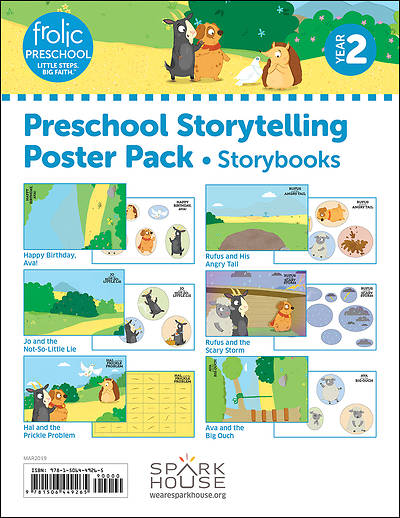 Picture of Frolic Preschool  Storybooks  Year 2  Ages 3-5  Storytelling Posters