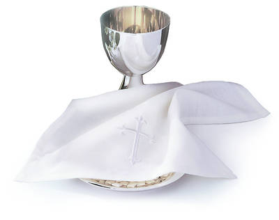 Latin Cross Bread Plate Napkin