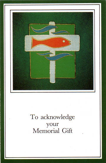Picture of Memorial Gift Card