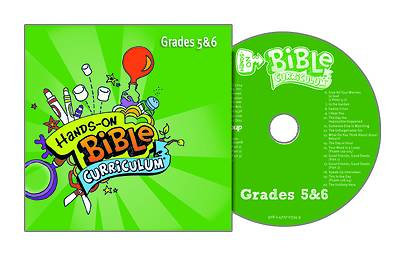 Picture of Hands-On Bible Curriculum Grades 5-6 CD Summer 2020