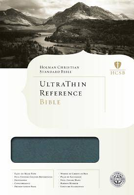 Picture of Ultrathin Reference Bible-HCSB