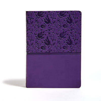 Picture of KJV Super Giant Print Reference Bible, Purple Leathertouch