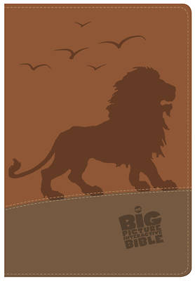 Picture of The CSB Big Picture Interactive Bible, Lion Leathertouch