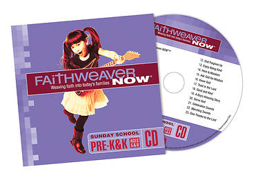 Picture of FaithWeaver NOW Pre-K & K CD Summer 2015