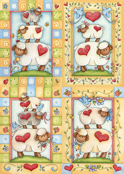 Little Lambs - Baby Boxed Cards - Box of 12