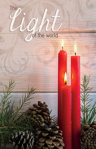 Light of the World Christmas Legal Size Bulletin