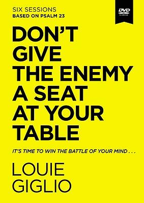 Picture of Don't Give the Enemy a Seat at Your Table Video Study