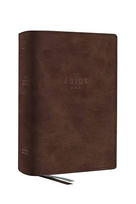 Picture of The Net, Abide Bible, Leathersoft, Brown, Comfort Print