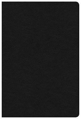 Picture of NKJV Large Print Ultrathin Reference Bible, Premium Black Genuine Leather