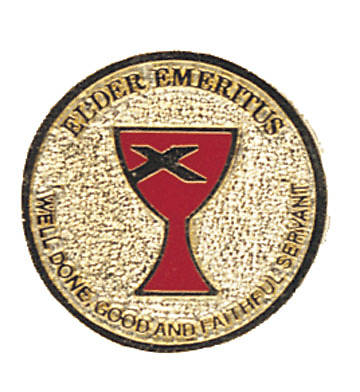 Lapel Pin Elder Emeritus Gold-plated (Disciples of Christ)