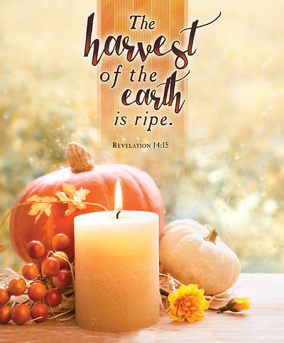 Picture of Harvest of Earth Thanksgiving Legal Size Bulletin
