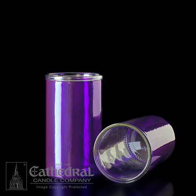 Picture of Cathedral Inserta-Lite 3-Day Reusable Glass Globe - Purple