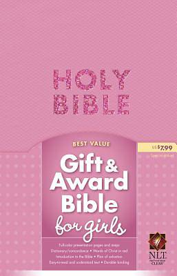 Gift and Award Bible for Girls-NLT