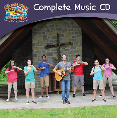 Vacation Bible School (VBS) 2018 Rolling River Rampage Complete Music CD
