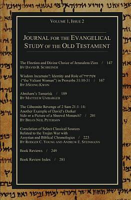 Journal for the Evangelical Study of the Old Testament, 1.2