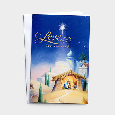 Picture of Love Came Down Boxed Christmas Cards