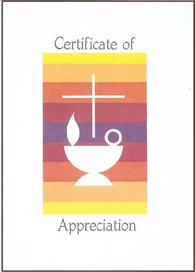 Picture of Certificate of Appreciation (Package of 12)