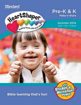 Standard HeartShaper Pre-K & K Student (Make-N-Share) Summer 2014