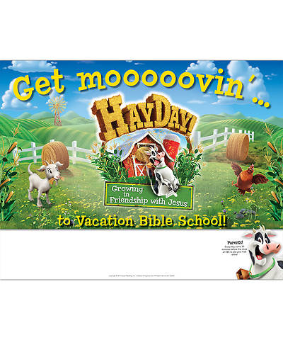 Group VBS 2013 Weekend HayDay Publicity Posters (pkg 5)