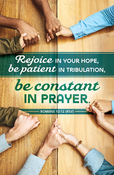 Picture of Be Constant in Prayer General Regular Size Bulletin