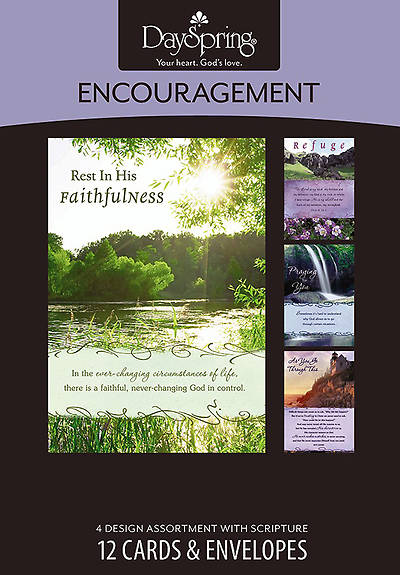 Bold Promises - Encouragement Boxed Cards - Box of 12