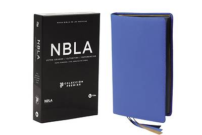 Picture of Nbla Biblia Ultrafina, Colección Premier, Azul, Edición Letra Roja