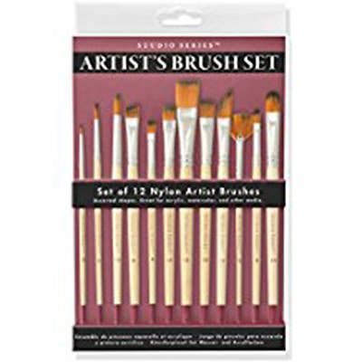 Picture of Studio Series Artist's Paintbrush Set (12 Professional-Quality Brushes)