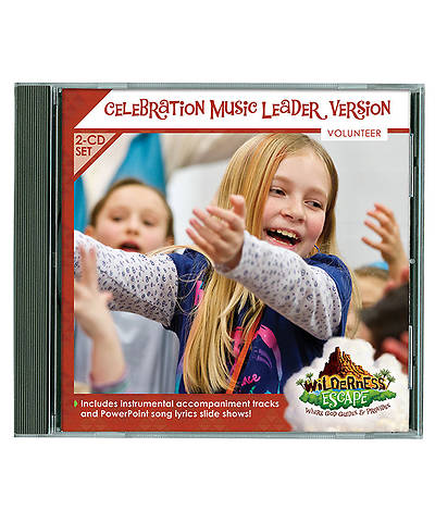 Group VBS 2014 Wilderness Escape Celebration Music Leader Version 2-CD Set
