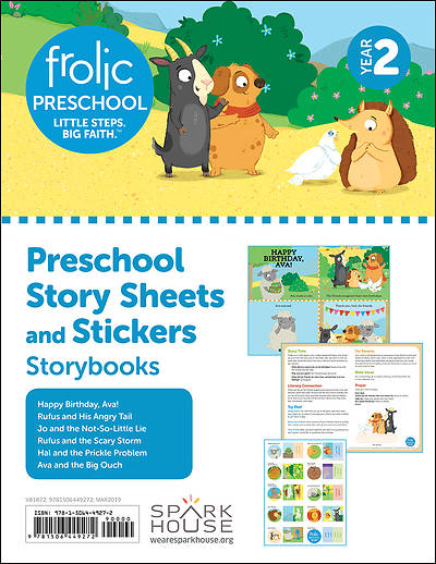 Picture of Frolic Preschool  Storybooks  Year 2  Ages 3-5  Story Sheets and Stickers