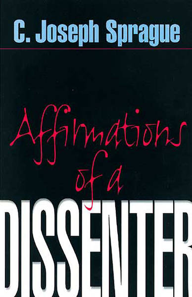 Affirmations of a Dissenter [MobiPocket Ebook]