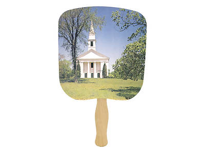 Picture of Chapel On The Hill Hand Fan - Pack of 50