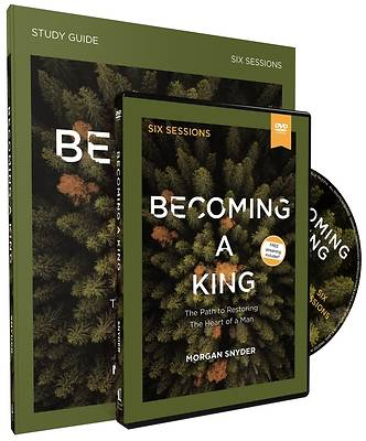 Picture of Becoming a King Study Guide with DVD