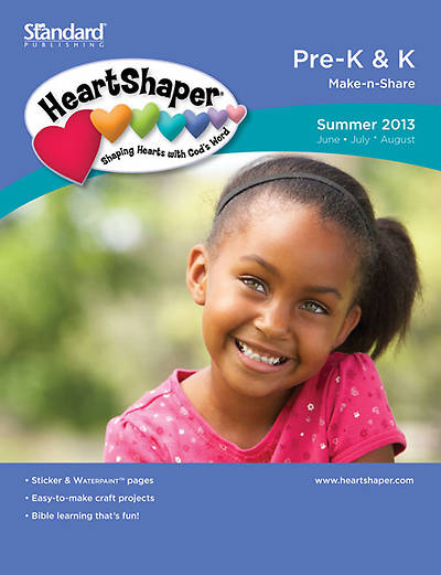 Standards HeartShaper Pre-K & K Student (Make-N-Share): Summer 2013