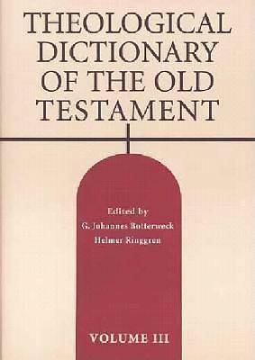 Theological Dictionary of the Old Testament #03