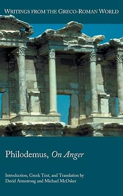 Picture of Philodemus, On Anger