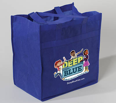 Picture of Deep Blue Tote Bag