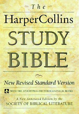 Harper Collins Study Bible with Apocryphal/Deuterocanonical Books