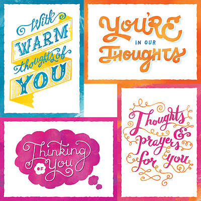 Thoughts of You - Thinking of You Boxed Cards - Box of 12
