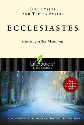LifeGuide Bible Study - Ecclesiastes
