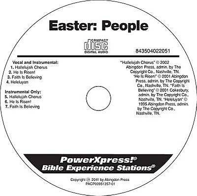 PowerXpress Easter People Music CD