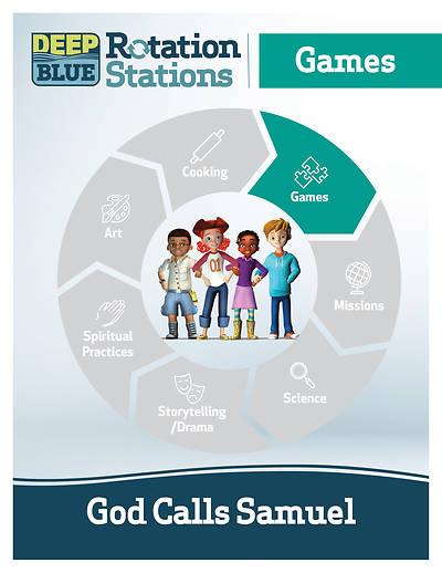 Picture of Deep Blue Rotation Station: God Calls Samuel - Games Station Download