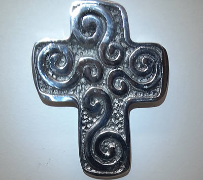 Picture of Celtic Cross Recycled Aluminum