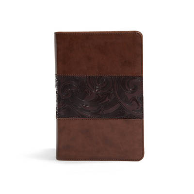 Picture of CSB Study Bible, Personal Size Edition, Mahogany Leathertouch